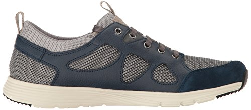 Geox Hombres M Snapish 1 Fashion Sneaker Rock / Dark Royal