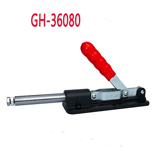 Ochoos 1PCS GH-36080 580KG Holding Capacity Push Pull Type Toggle Clamp Quick Hand Tool