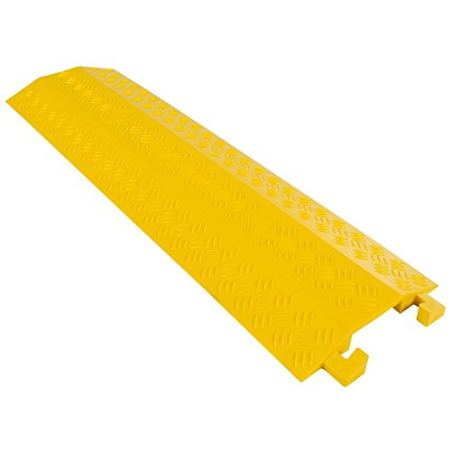 (Guardian Industrial Products DH-CR4-V2 High Traffic Pedestrian/Light Equipment Drop-Over Cable Cover Ramp)