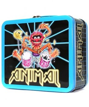 Muppets Animal Retro Look Metal Lunchbox