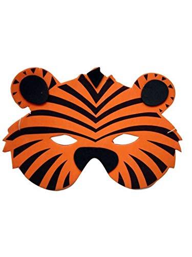 9a207083cbc DISBACANAL Careta de Tigre eva  Amazon.es  Juguetes y juegos