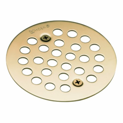 Moen 101664AZ Kingsley 4-1/4-Inch Screw-In Shower Strainer, Antique Bronze ()