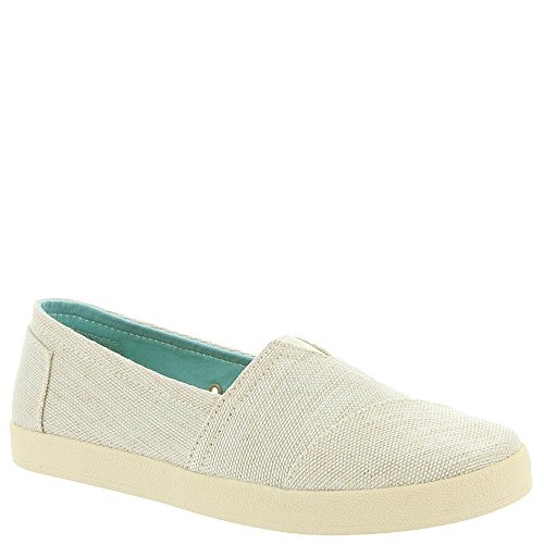 TOMS Women's Avalon Slip-On Natural Yarn-Dye 9.5 B (Natural Yarn Dyes)