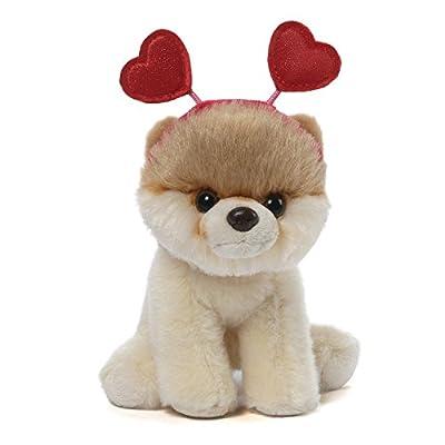 """Gund Itty Bitty Boo #028 Hearts Headband Plush, 5"""""""