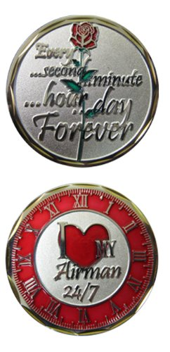 I Love my Airman 24/7 Challenge Coin