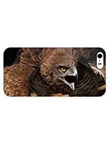 3d Full Wrap Case For Htc One M9 Cover Animal Angry Hawk