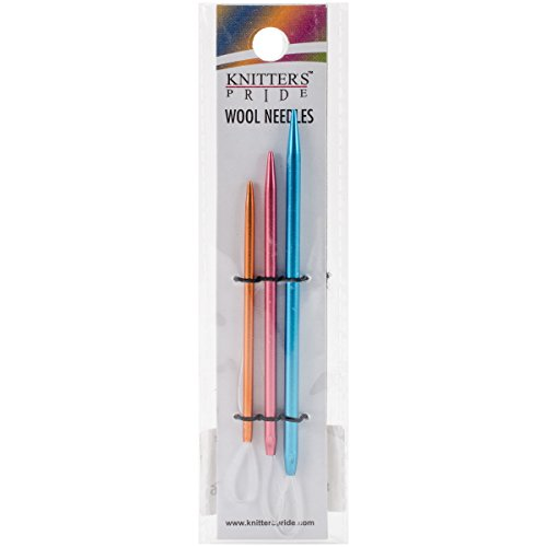 (Knitter's Pride KP800198 Wool Needles Set of 3, Assorted)