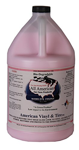 (All American Car Care Products American Vinyl and Tire High Gloss Tire Dressing (1 Gallon))