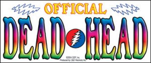 dead head sticker - 4