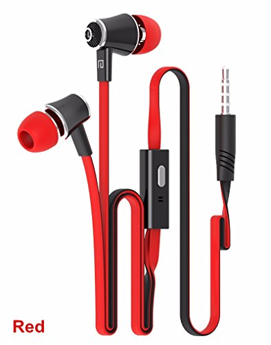 RedSonics SE2 Earphone In Ear Earbuds Hot Sale Headset For Xiaomi Samsung Running Mobile Phone PC fone de ouvido Gaming[ Red ] by RedSonics