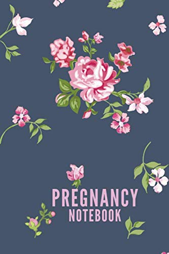 Pregnancy Notebook: Floral Journal Memory Book Diary (6x9, 110 Lined Pages)