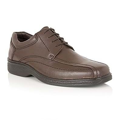 Myers Marrón Cuero Zapatos Lotus Hombres 11 z8BBnL