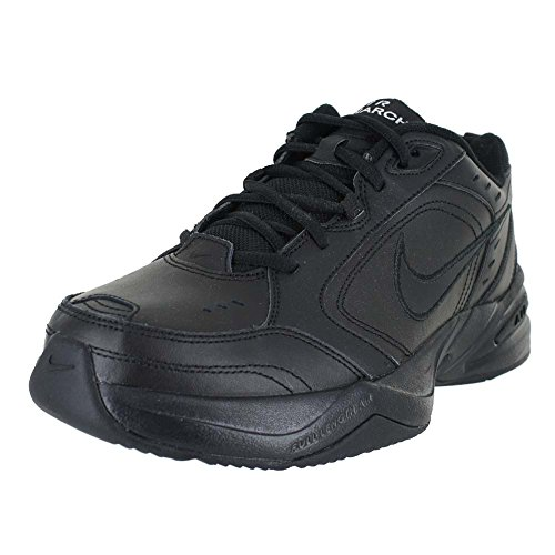Nike Air Monarch IV (4E) - Black / Black, 9 4E US