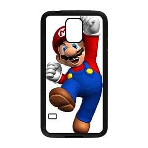 Samsung Galaxy S5 Cell Phone Case Black Super Mario Bros Phone Case Clear XPDSUNTR12253
