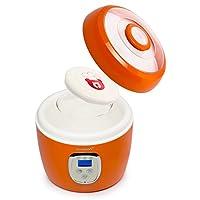 OURSSON FE0205D/OR 2L Yogur - Yogurtera (2 L, Naranja, Yogur, 213 mm, 213 mm, 216 mm)
