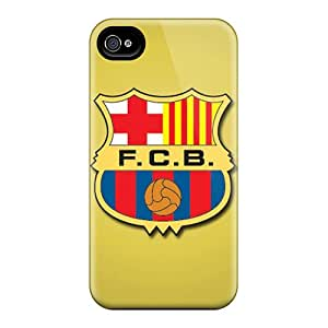 Perfect Hard Cell-phone Cases For Iphone 4/4s (REe11151lbHz) Support Personal Customs Nice Fc Barcelona Series