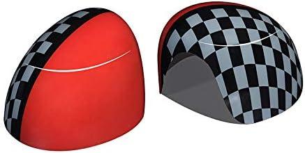 車の外装装飾バックミラーPCプラスチックハウジング保護カバー、BMW MINI ONEクーパーS JCW F54 F55 F56 F57 F60用