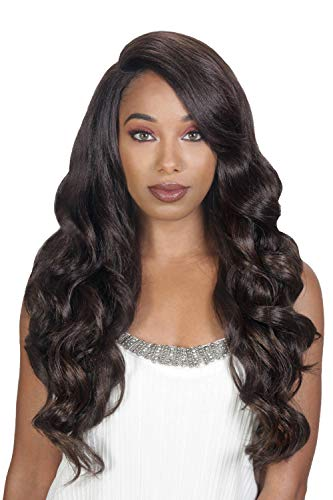 Sis Beyond Moon-Part Lace Front Wig - ROYA Color: 1 Jet Black (Hollywood Sis Synthetic Lace Front Wig Natural)