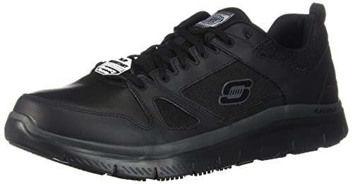 Skechers Men's Work Relaxed Fit Flex Advantage SR,Black,US 15 M