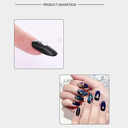 Pegamento de uñas con pincel pegamento de uñas Pieza Adhesiva Especial Pegamento Adhesivo False Super Fuerte Puntas de Uñas: Amazon.es: Belleza