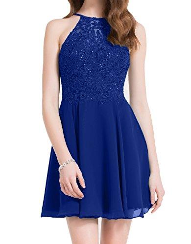 Tanzenkleider Abendkleider Braut Blau Partykleider Mini Schwarz Cocktailkleider Spitze La Marie Hundkragen Royal zX4SSq