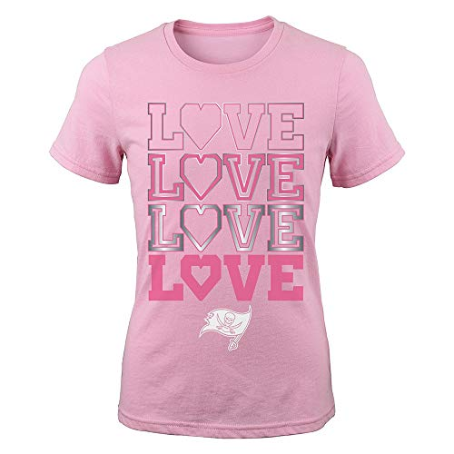 - Outerstuff Tampa Bay Buccaneers NFL Youth Pink Emphatically T-Shirt