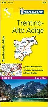 Mapa Local Italia Trentino. Alto Adige por M epub