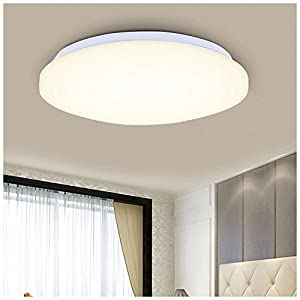 SODIAL(R) 18W 14inch Round LED Ceiling Light White 2160lm Bright NEW