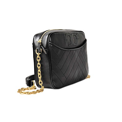 Camera Black Burch Crossbody Tory Leather in Alexa nqw0BwRx4