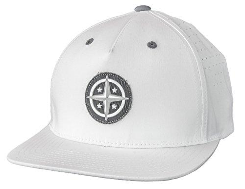 Innova Star Patch Adjustable Performance Disc Golf Hat - (White Innova Star)