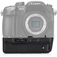 Powerextra DMW-BGGH3 Vertical Battery Grip Replacement for Panasonic Lumix GH3 Lumix GH4 Digital SLR Camera