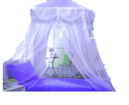 Purple Lilac Princess Bed Canopy