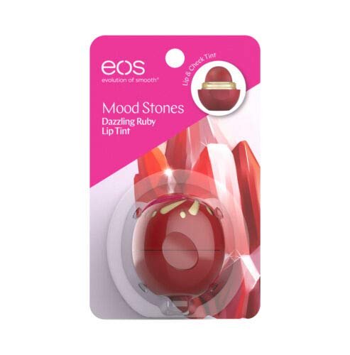 EOS Mood Stones Lip Tint, Dazzling Ruby, 0.25 oz