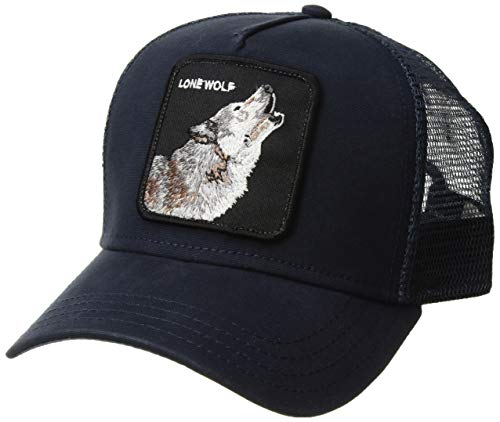 Goorin Bros. Men's Wolf Baseball, Navy, One Size