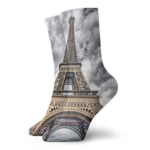 YUANSHAN Socks Paris Cloud Day Women & Men