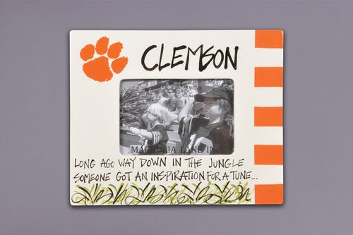 Clemson Tigers Ceramic Frame