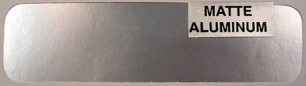 Bare Metal Foil Co 004 6x11 Thin Sheet Matte Aluminum Foil by Bare Metal Foil
