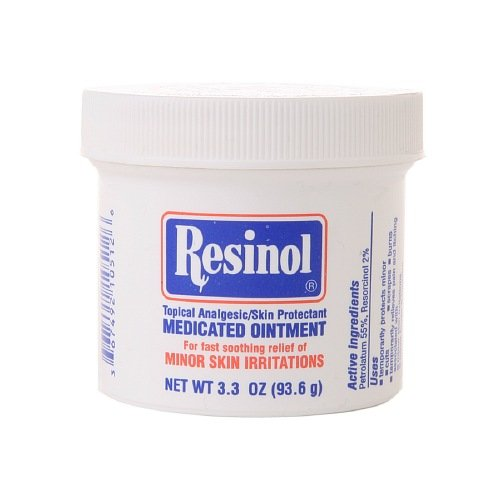 Resinol Topical Analgesic Skin Protectant Ointment 3.3 oz