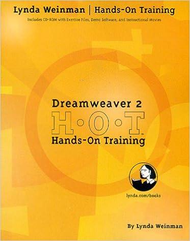 Dreamweaver 2.0 Hands-On Training