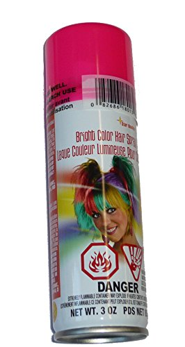 Rubie's Bright Color Hairspray, Pink