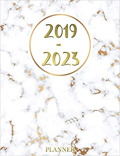 Amazon.com: 2019 - 2023 Planner: Agenda Planner For The Next ...