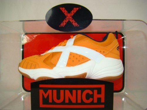 Munich 00823 Chaussures de handball Extreme Naranja B-Ware Orange/blanc/bleu