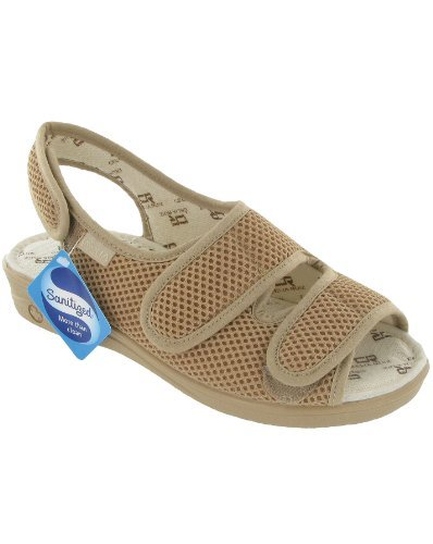 Mirak Celia Ruiz 213 Wide Fit Sandal / Womens Sandals (4 UK) (BEIGE) by Mirak dXuvAESLJ