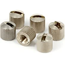 Tronical Lock Nuts | Nuts for TronicalTune RoboHeads Nickel Set of 6