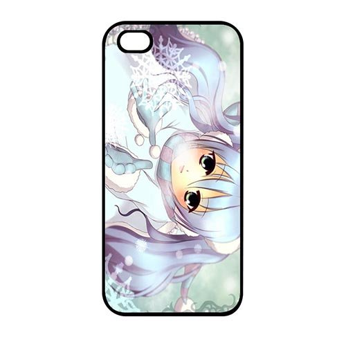 Coque,Miku Hatsune Design Cover Case Covers for Coque iphone SE & Coque iphone 5 & Coque iphone 5S Hard Case Covers With Best Plastic