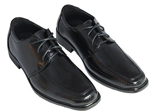 e30232fffcaa6e Festliche Jungen Anzug Schuhe Kinder Halbschuhe schwarz  Amazon.de  Schuhe    Handtaschen