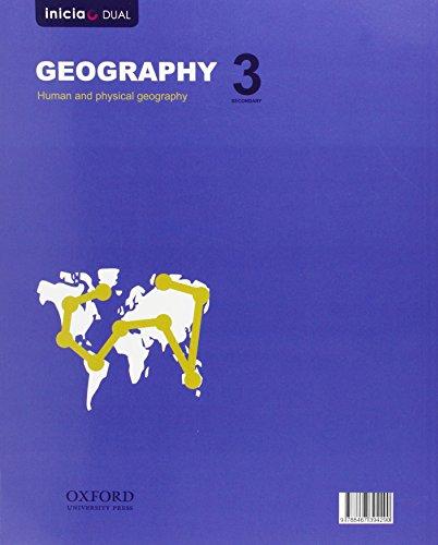Geography. Student's Book. ESO 3 - Volume 1 (Inicia CLIL) - 9788467394290 (Inicia Dual)