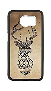 Brand New Durable Case for _ _For Case Iphone 6Plus 5.5inch Cover ,Deer phone case,DIY Cell Phone Case with Paper Cut(Only black.)