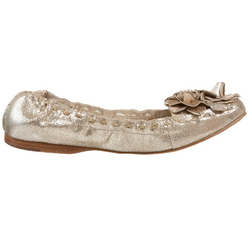Jack Rogers Mujeres Tansy Flower Moc Platinum