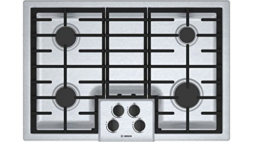 "Bosch NGM5055UC 500 30"" Stainless Steel Gas Sealed Burner Co"